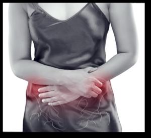 dolor pélvico, presión y micción frecuente